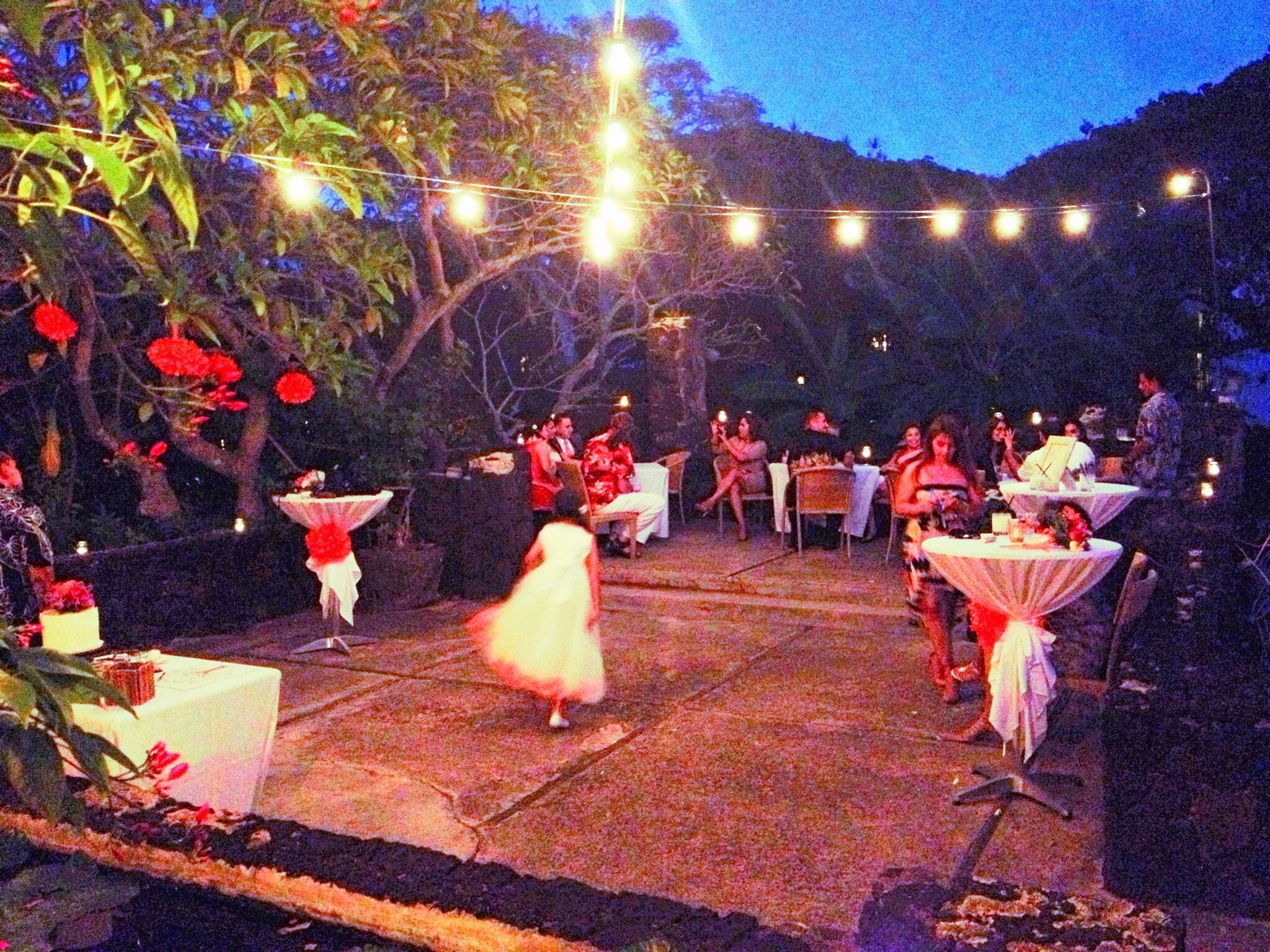 Small But Simple Wedding Reception At The Plantation Gardens Restaurant In Kauai Hawaii