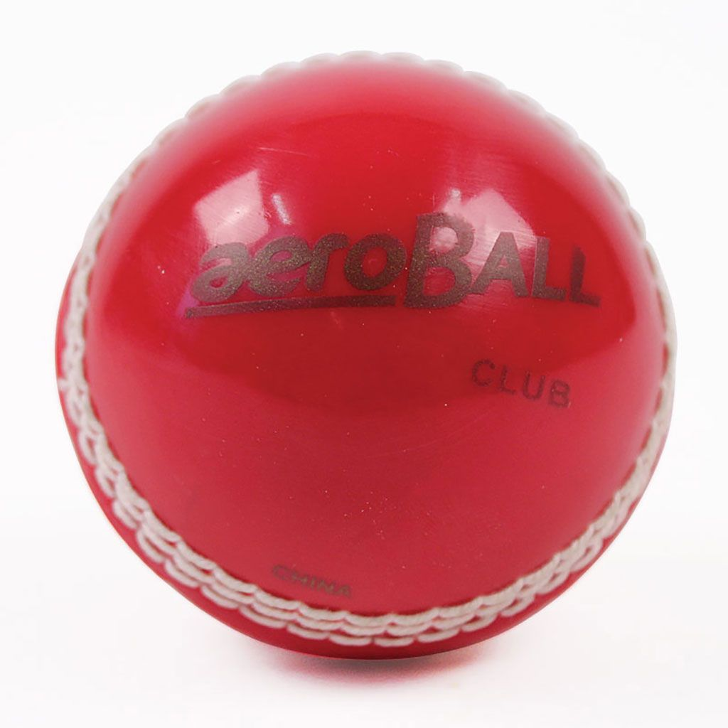Aeroball match cricket ball   Cricket   Cricket equipment
