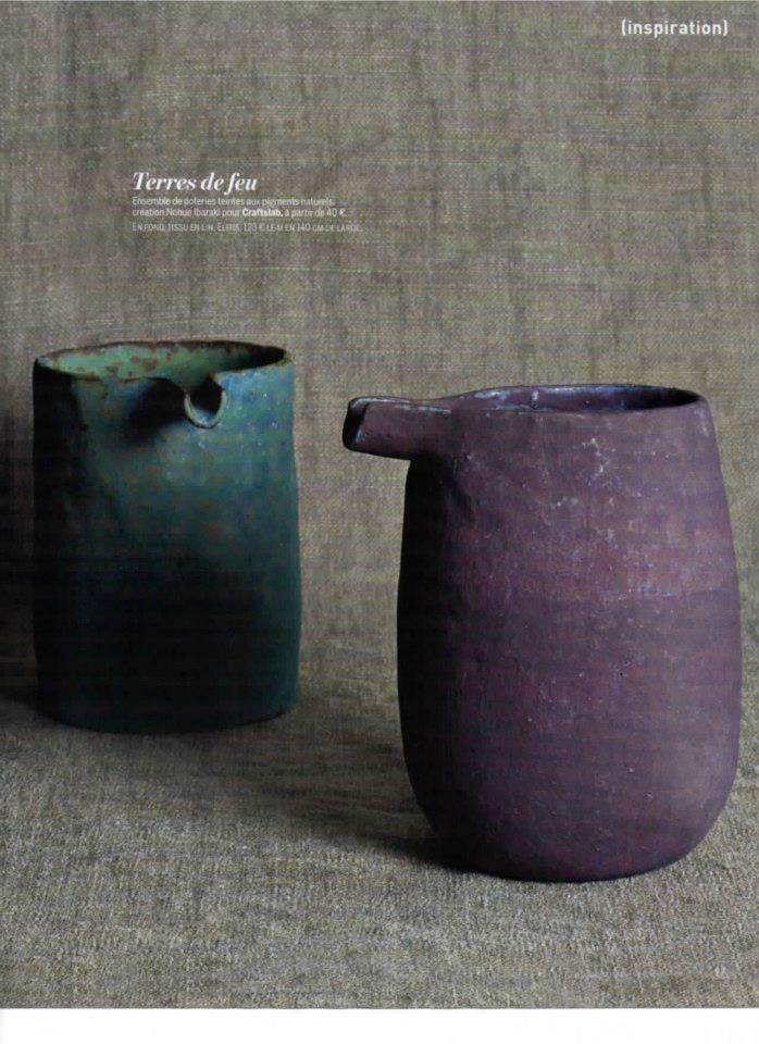 茨木 伸恵. Japanese potter. Nobuo Ibaraki.