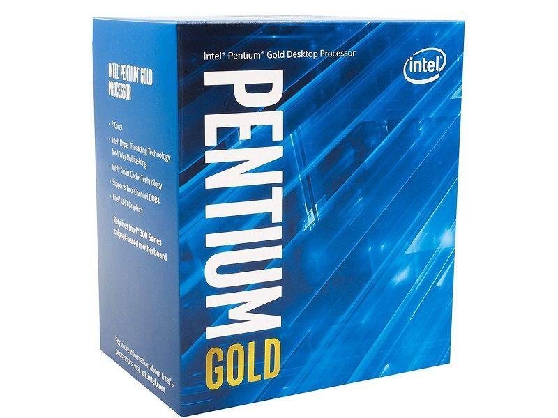 Intel تطرح معالج جديد Pentium Gold G5620 Intel Processor Graphic Card