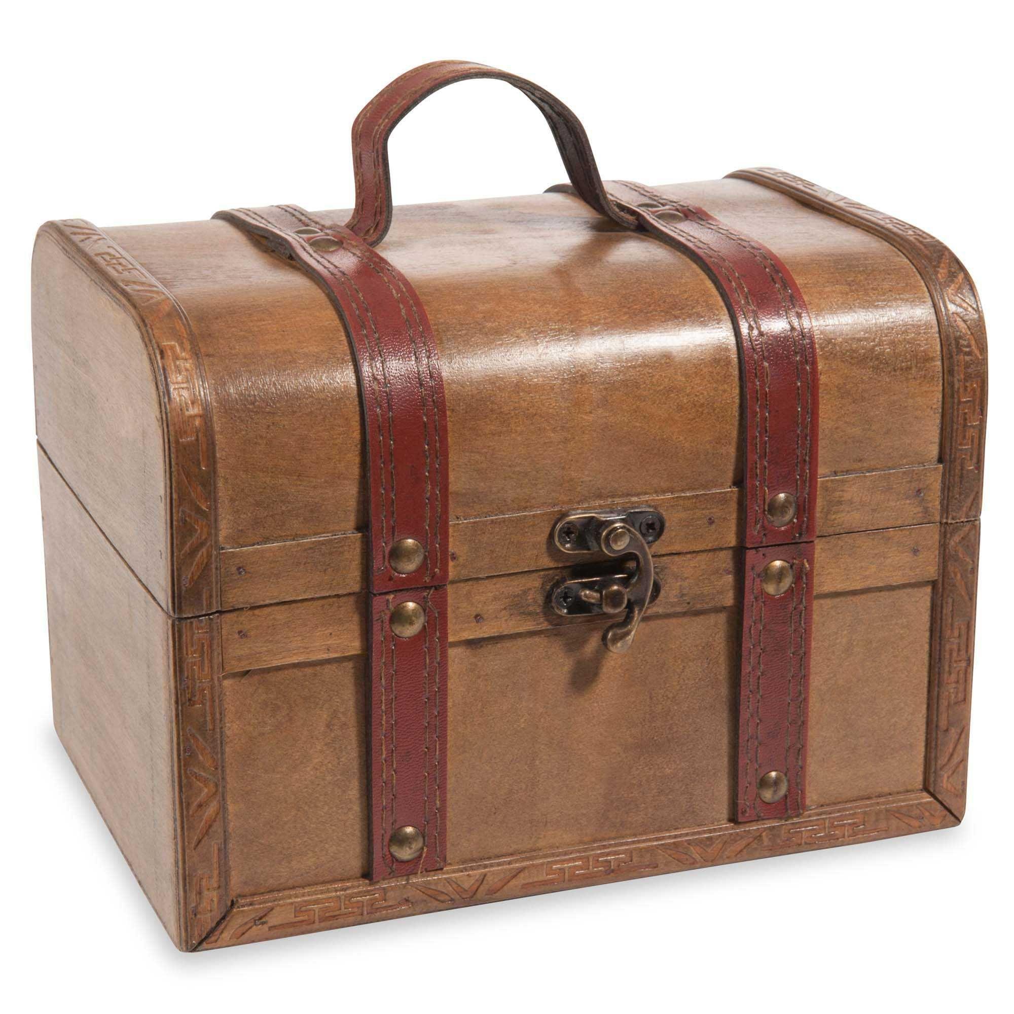 check-out 5deb5 dac7b Rangements déco | Vintage | Coffre en bois, Coffre de ...