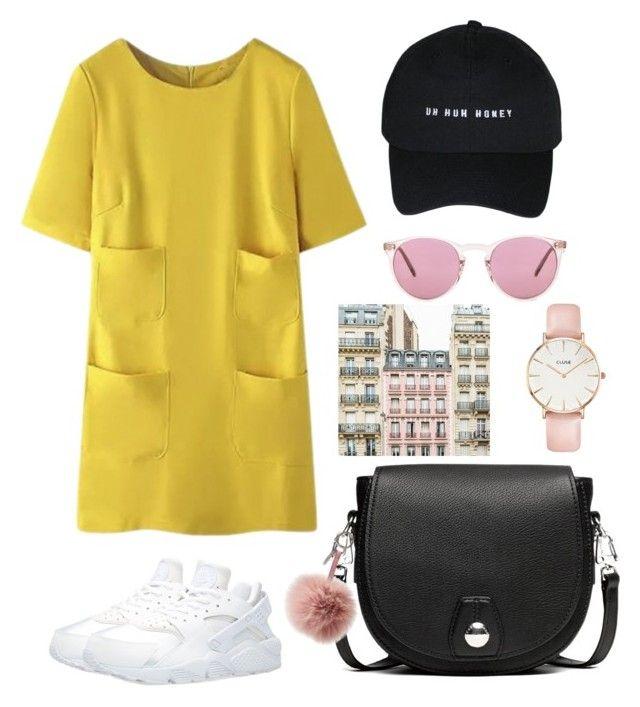 csivv by kata-szabo on Polyvore featuring polyvore fashion style NIKE rag & bone CLUSE Oliver Peoples Fendi clothing