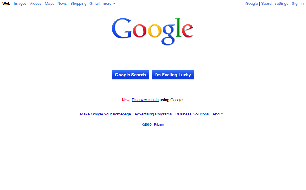New Google Interface: Bubbly like Ask3D, but I like it | Places to