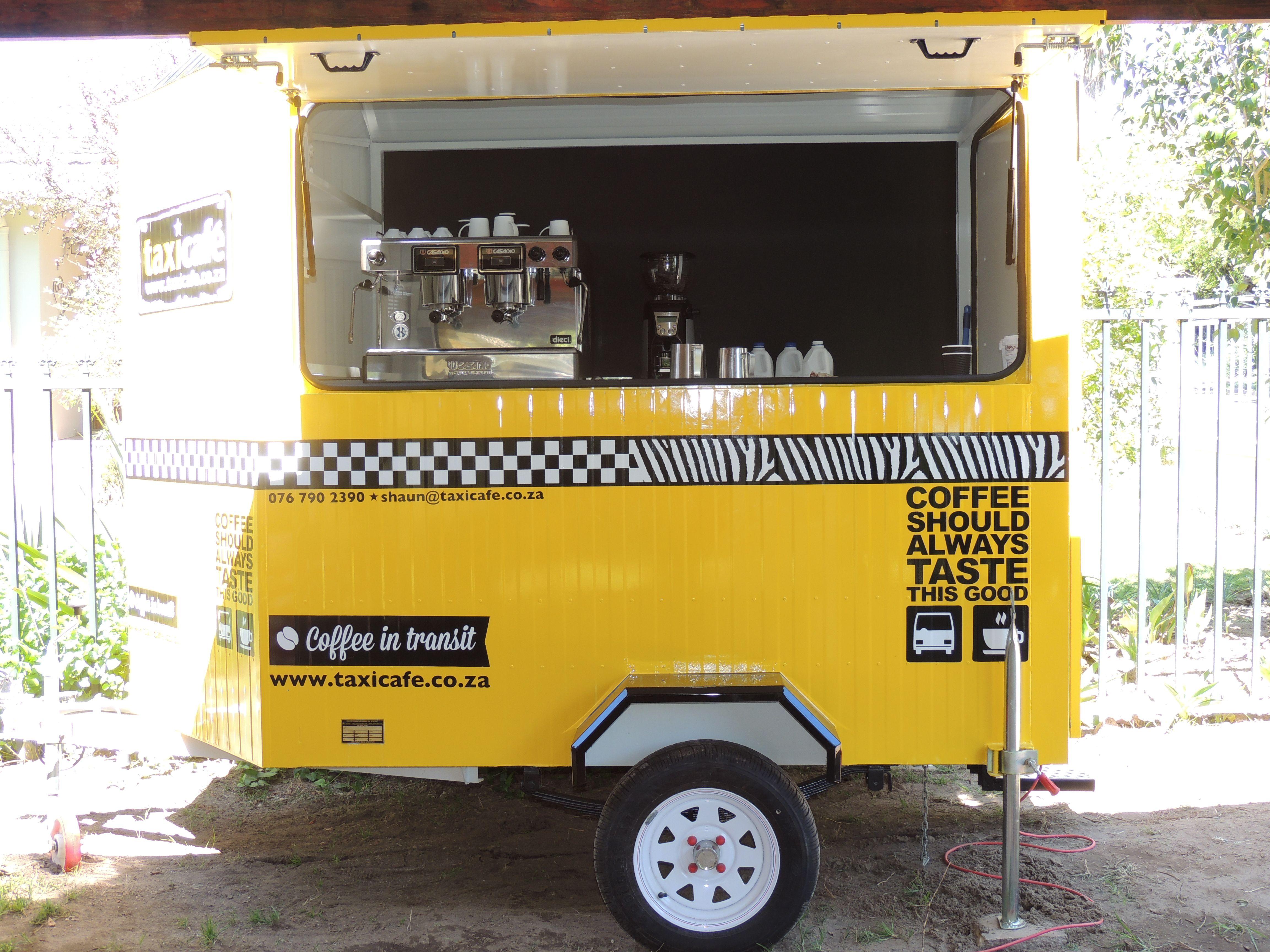 Mobile coffee trailers