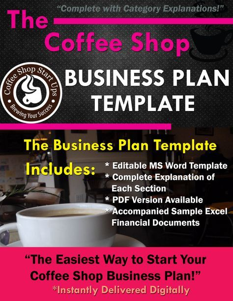 Coffee Shop Business Plan, Write Your Business Plan for Your Coffee