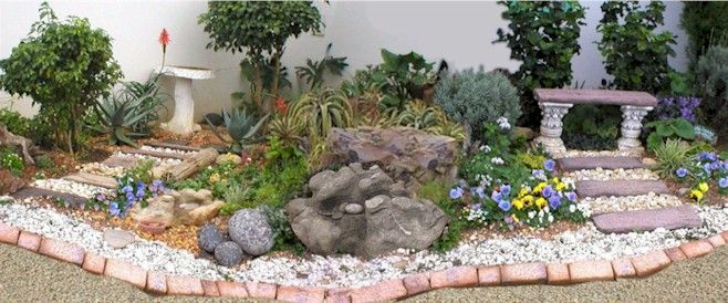 rock garden ideas designs of different rock gardens 658x274 in 829kb