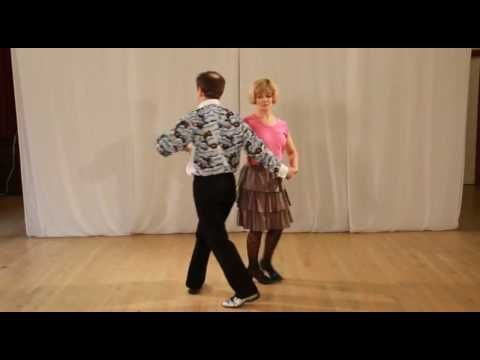 Smooth Modern Jive 12 Beginners Routines - YouTube