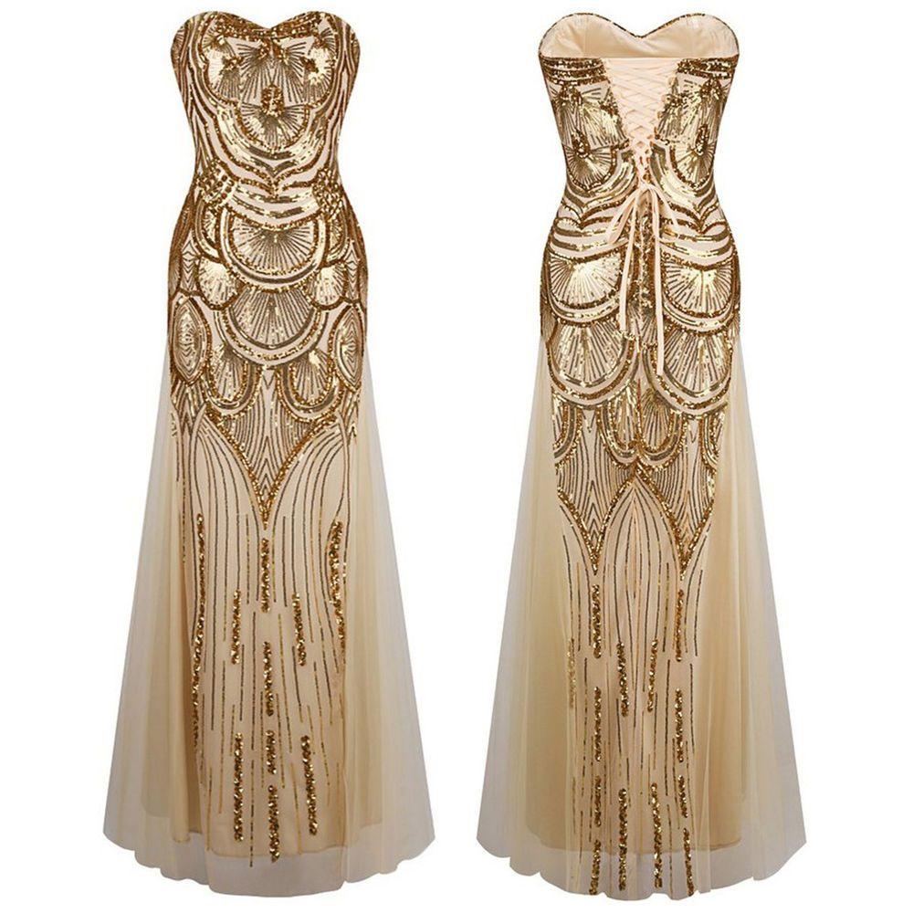 Banquet dresses, Evening dresses