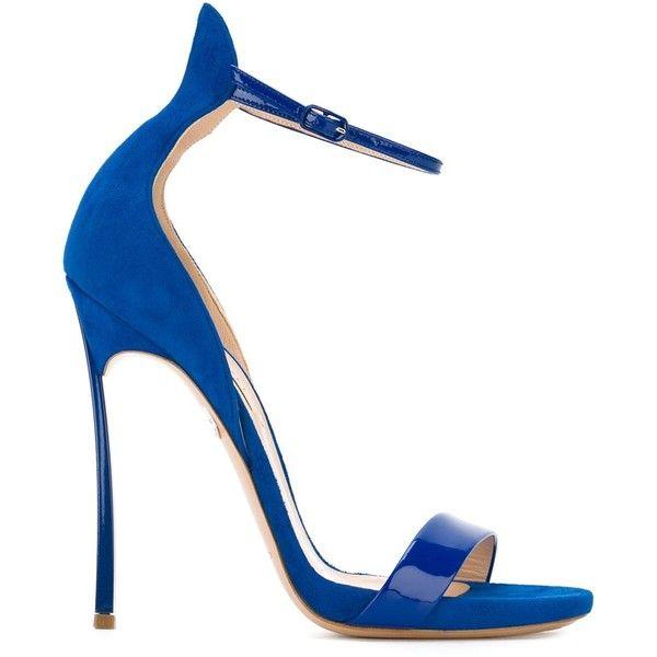 snakeskin sandals - Blue Casadei 2h741b5C