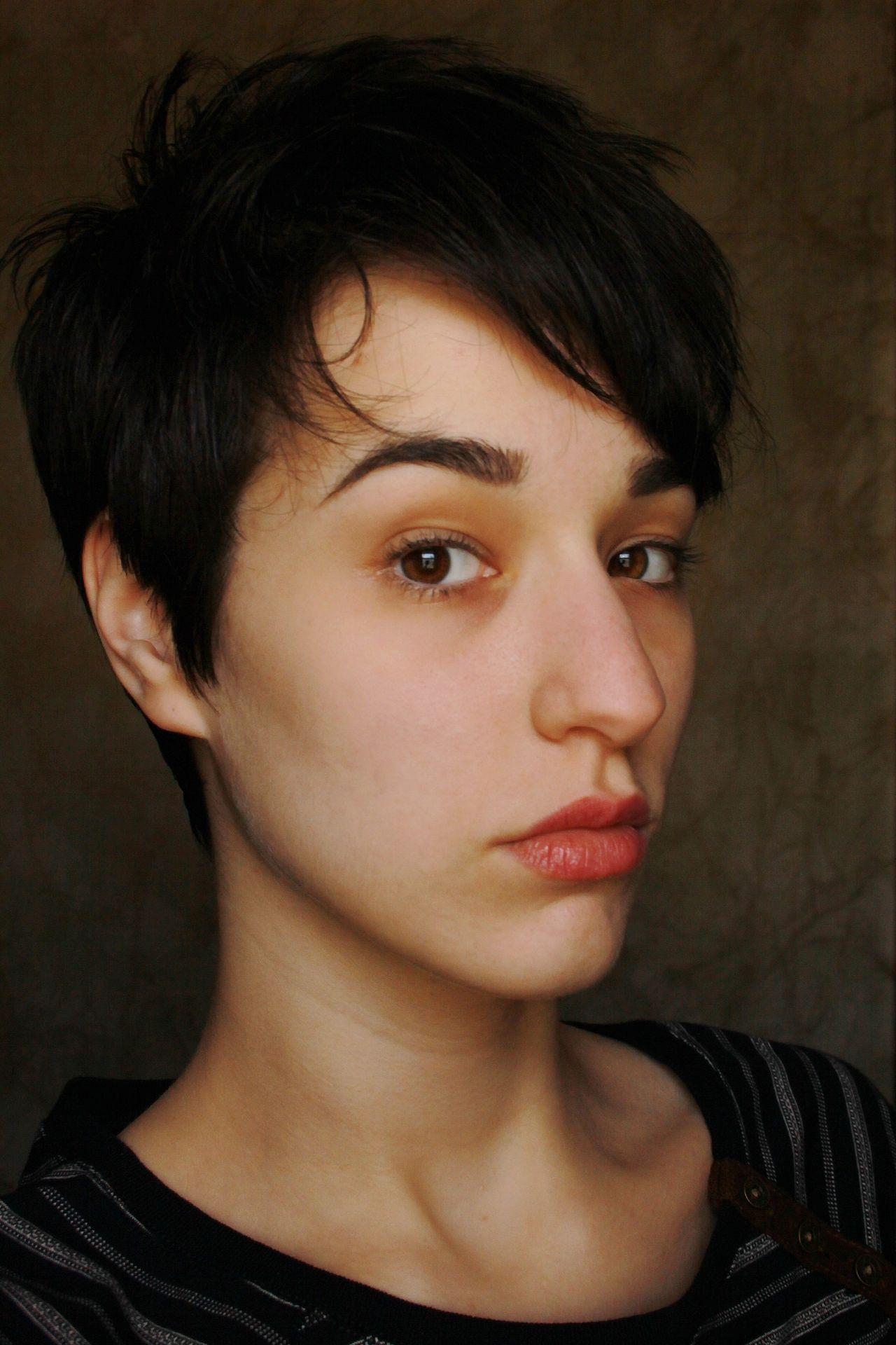 Fuck yeah short haired women cabelo pinterest super short hair