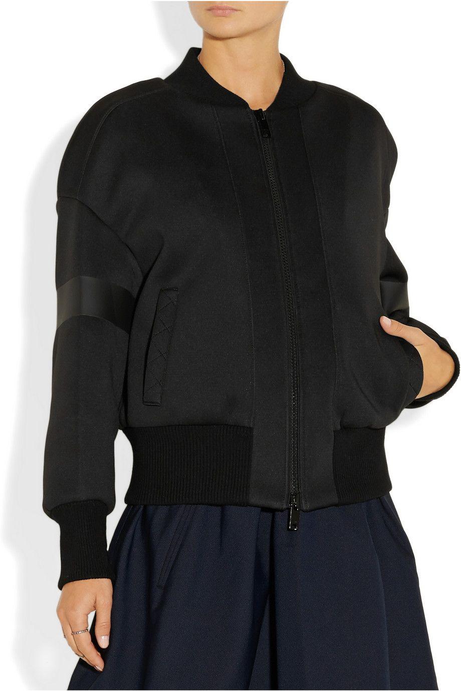 DKNYNeoprene bomber jacketfront   Wish List/Shopping List ...