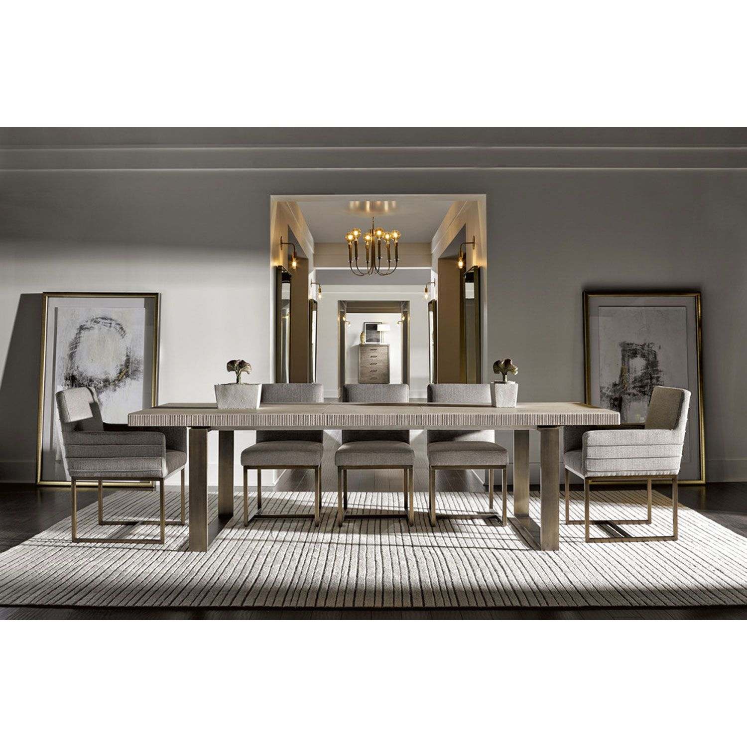 Universal Furniture Robards Quartz Rectangular Dining Table 643755 Bellacor Rectangular Dining Room Table