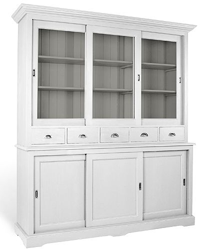 Three door French Country dresser Spice drawer, Dresser and Doors