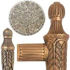 Edgar Berebi Decorative Hardware Collection Hampton Cabinet