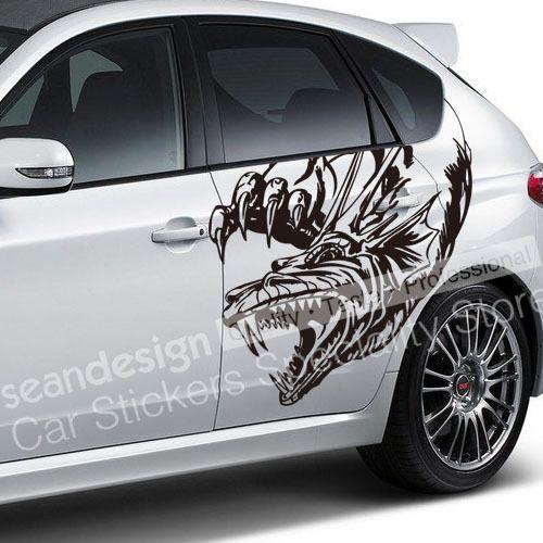 Cool Totem Dragon Z Auto Car Decal Sticker PVC Cool Ideas - Unique car decals