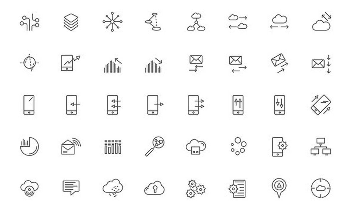 Best Free Web Icons Packs Free Web Icons Web Icons Free Web