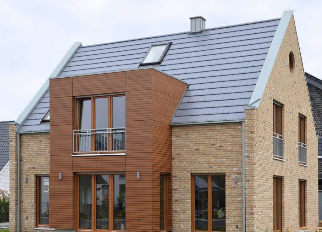 Einfamilienhaus neubau satteldach klinker  Moderne Häuser Bilder: bild1-bockhaus-odenthal architekten-haus t ...