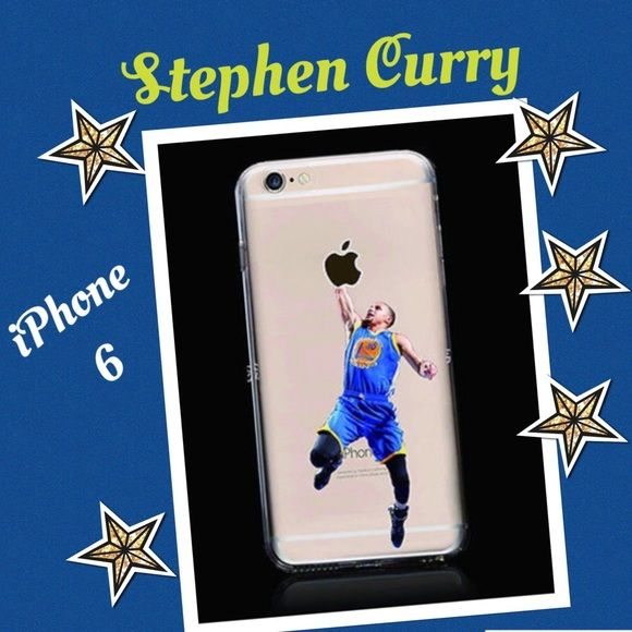 Stephen Curry IPhone 6 cover Rubber clear NBA Basketball Star Dunk  Accessories Phone Cases
