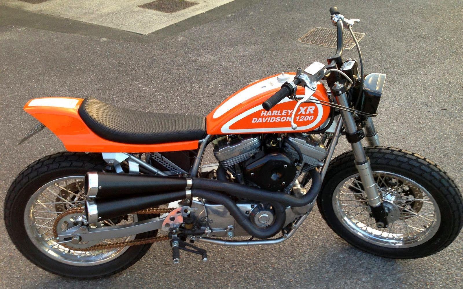 Harley-Davidson XR1200 tracker
