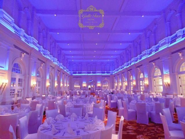 Grand ballroom banquet hall at the galle face hotel - Grand hotel sri lanka ...
