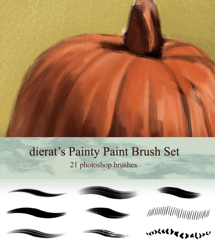 My Painty Paint Brush Set by dierat.deviantart.com on @deviantART