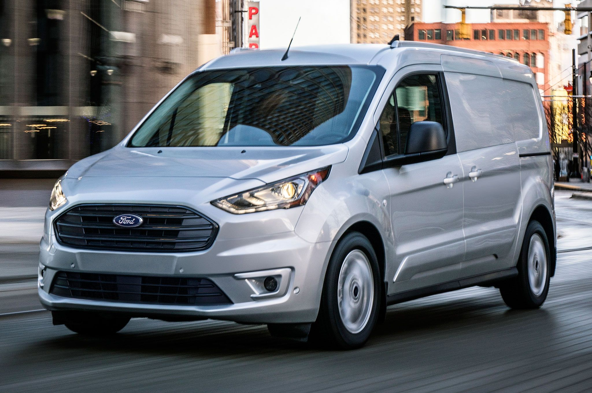 2019 Ford Transit Connect Cargo Van First Look Squib Ford