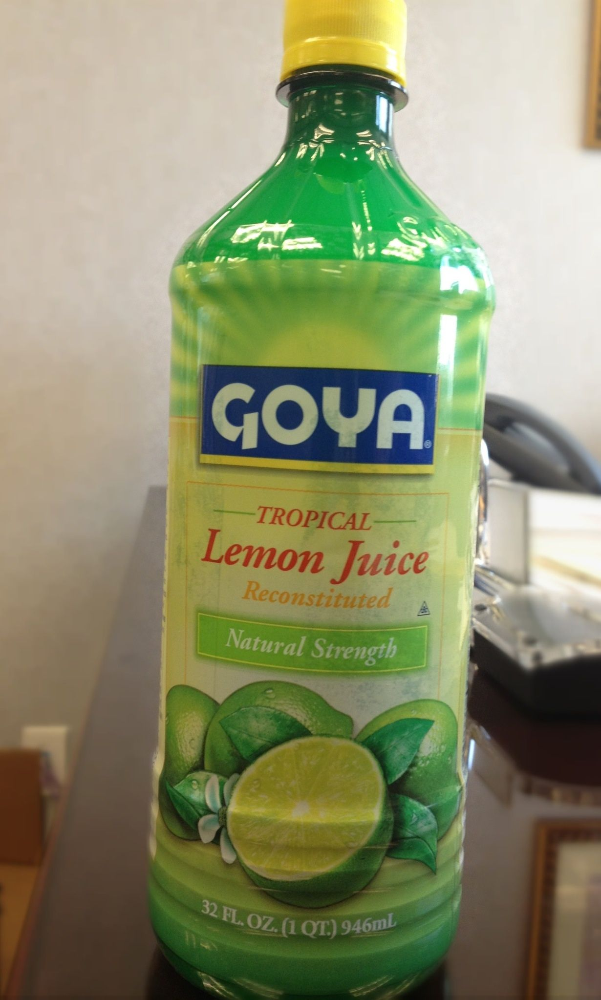 Goya Lemon Juice Display Indian Food Recipes