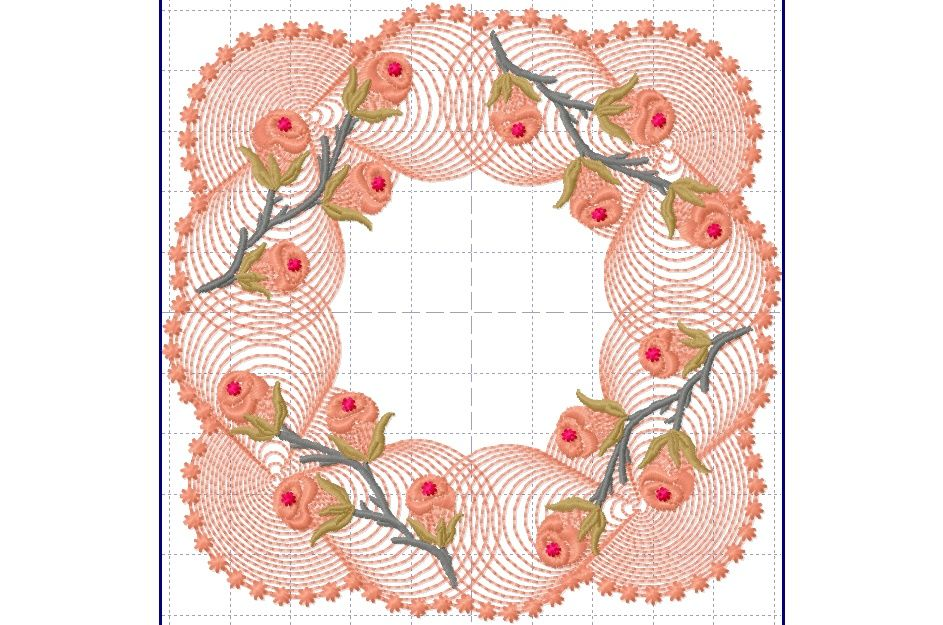 One of many  beautiful designs from Gorgeous Stitches