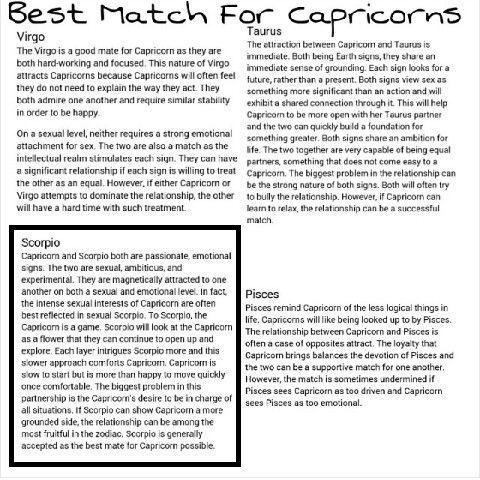 capricorn compatibility with taurus