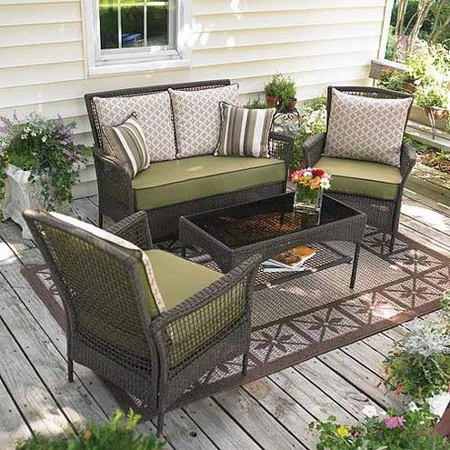 Outdoor Living Room Patio Furniture Layout Deck Furniture Layout Patio Decor Outdoor furniture for small deck