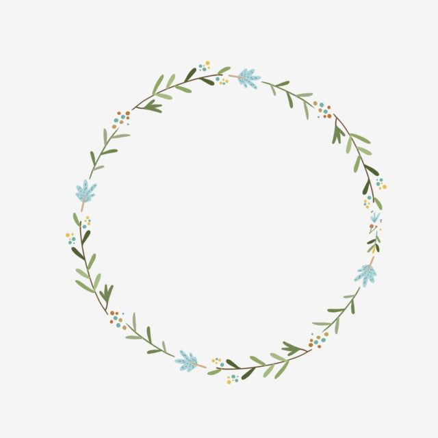 Hand Drawn Green Leaf Ring Design Element Hand Painted Korean Style Green Leaf Ring Png Transparent Clipart Image And Psd File For Free Download Leaf Ring Design Floral Border Design Floral
