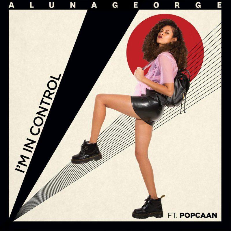 AlunaGeorge, Popcaan – I'm in Control (single cover art)