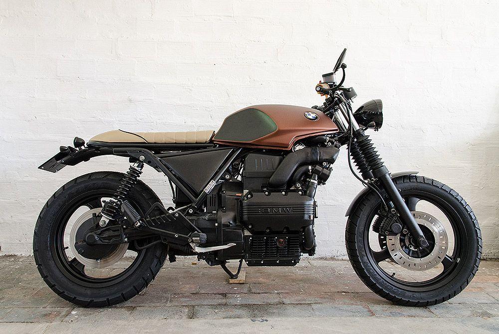 Bmw K 75 S La Bauscia Motociclette Bottega Bastarda Bmw Bmw