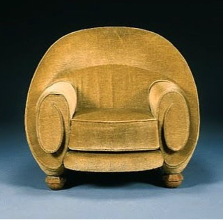Pierre Chareau Armchair 1925 Seating In 2018 Pinterest