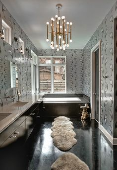 Meurice Sconce Jonathan Adler Gold In The Bathroom Glamour And Shine