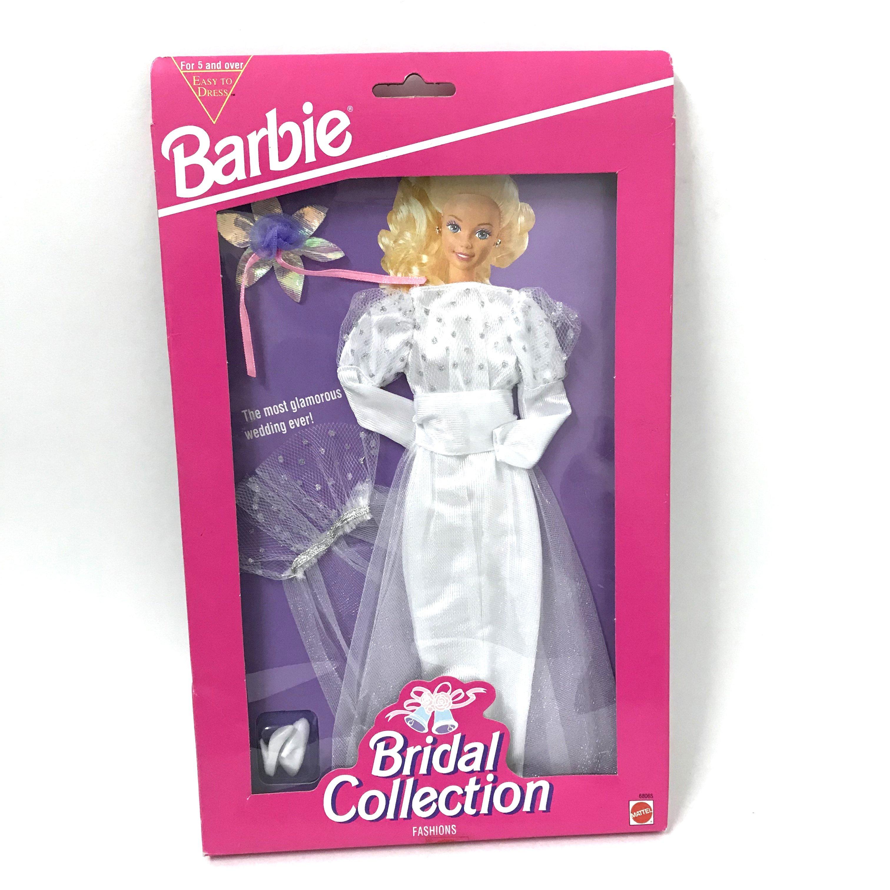 MATTEL BARBIE FASHION BRIDAL COLLECTION 68065 NIB NRFB 1993