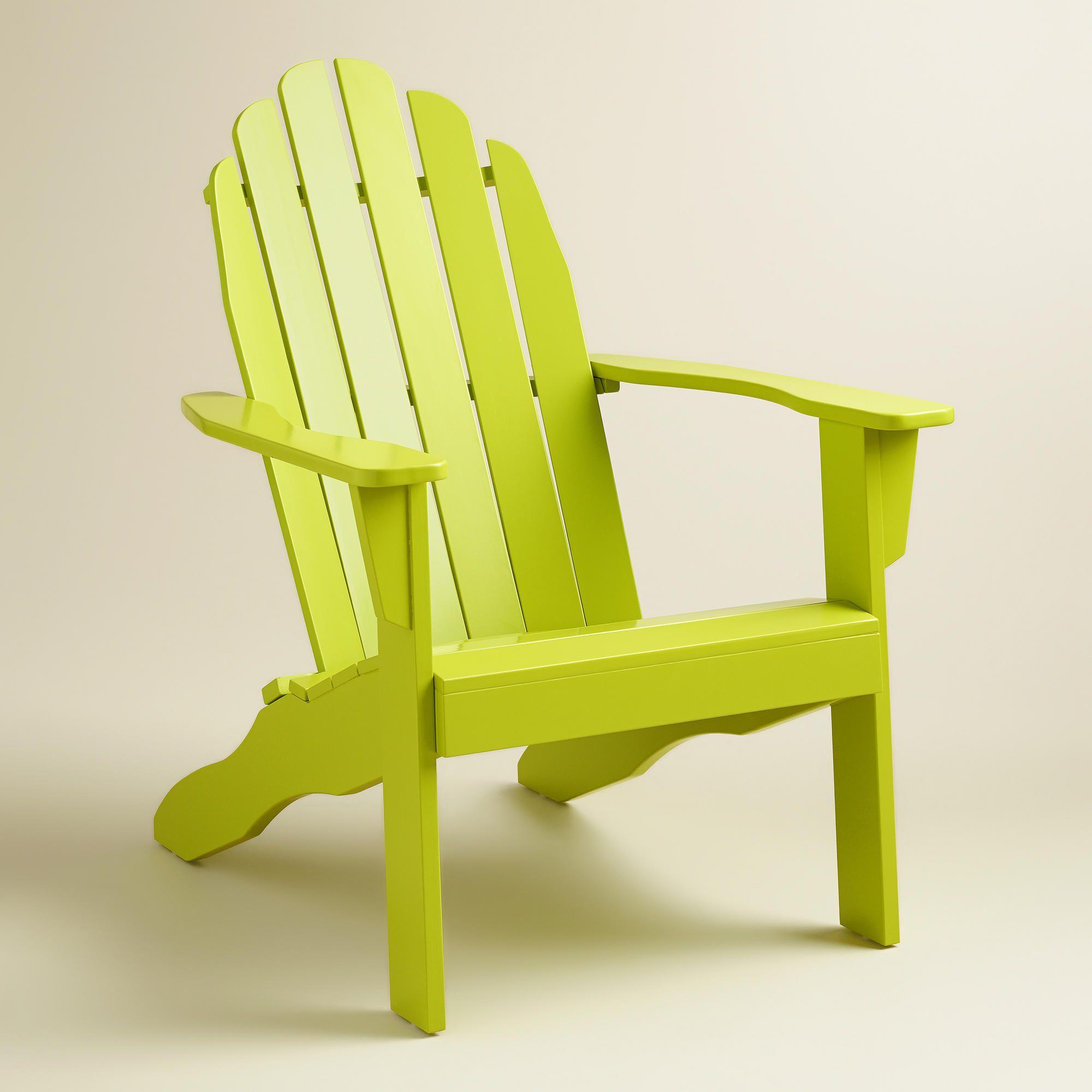 Apple Green Adirondack Chair World Market Green Adirondack