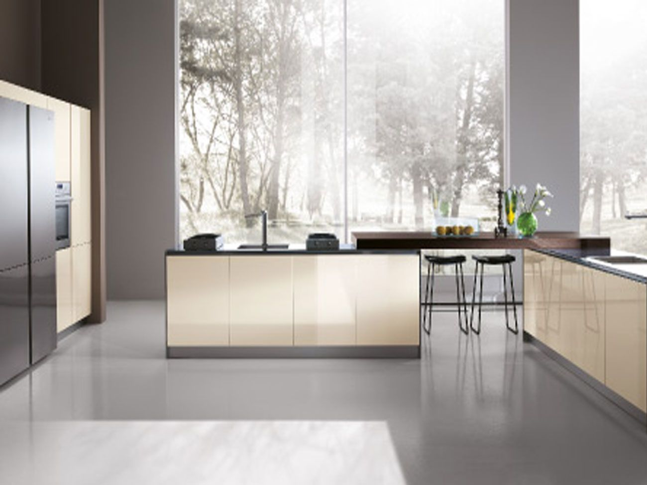 Los Angeles Kitchen Cabinets Miton High Quality Italian Kitchen By Mef Italian Kitchen Design