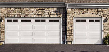 Faux Garage Door Window Vinyl Decals Mock By Gettintoplinedesigns