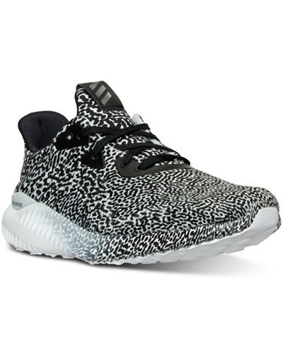 adidas Big Boys\u0027 Alpha Bounce Running Sneakers from Finish Line