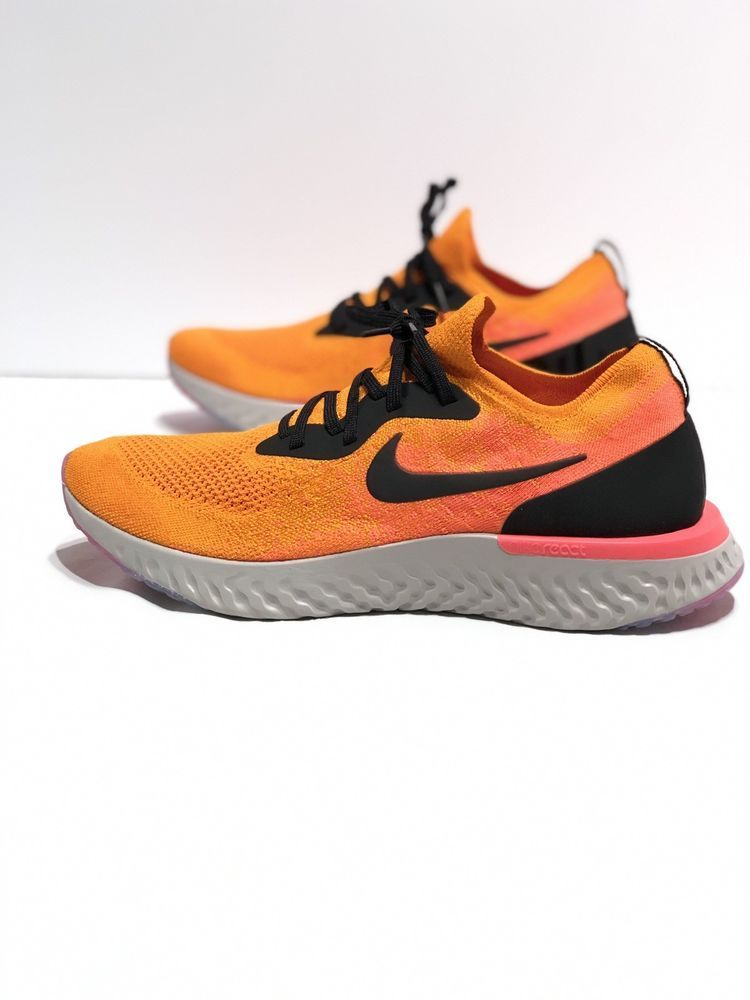 5c20bccc6bc0 Nike Epic React Flyknit AQ0067-800 Mens US Size 13 Copper Flash Orange   fashion  clothing  shoes  accessories  mensshoes  athleticshoes (ebay link)
