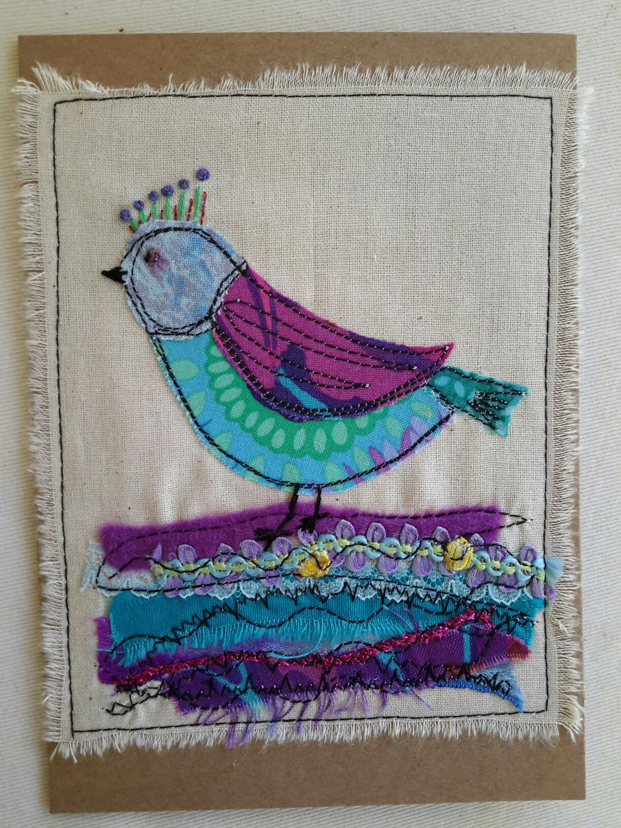 Pin by Tilly McLeod on Free motion sewing cards I have made ...