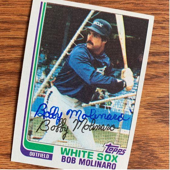 Bob Molinaro signed a TTM autograph success. #ttm #ttmsuccess #chicago #whitesox #chicagowhitesox #mlb #baseball #baseballcards