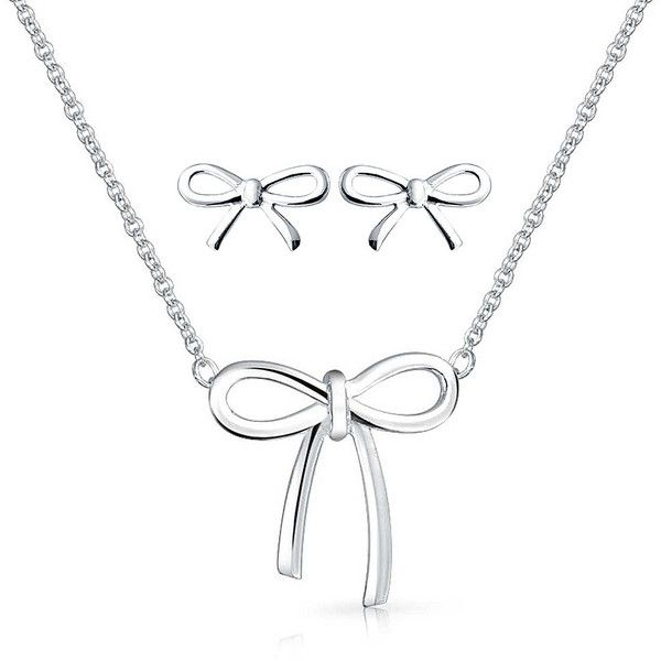 Bling Jewelry Take a Bow Set ($30) ❤ liked on Polyvore
