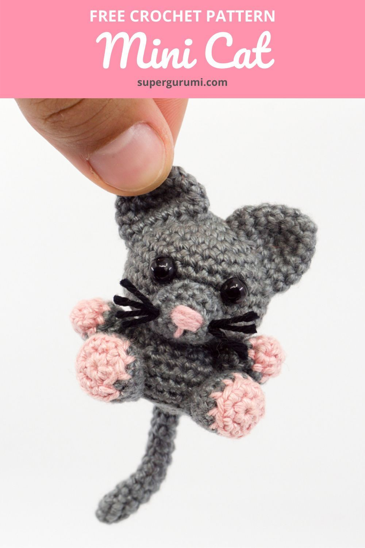 Mini Amigurumi Cat Crochet Pattern
