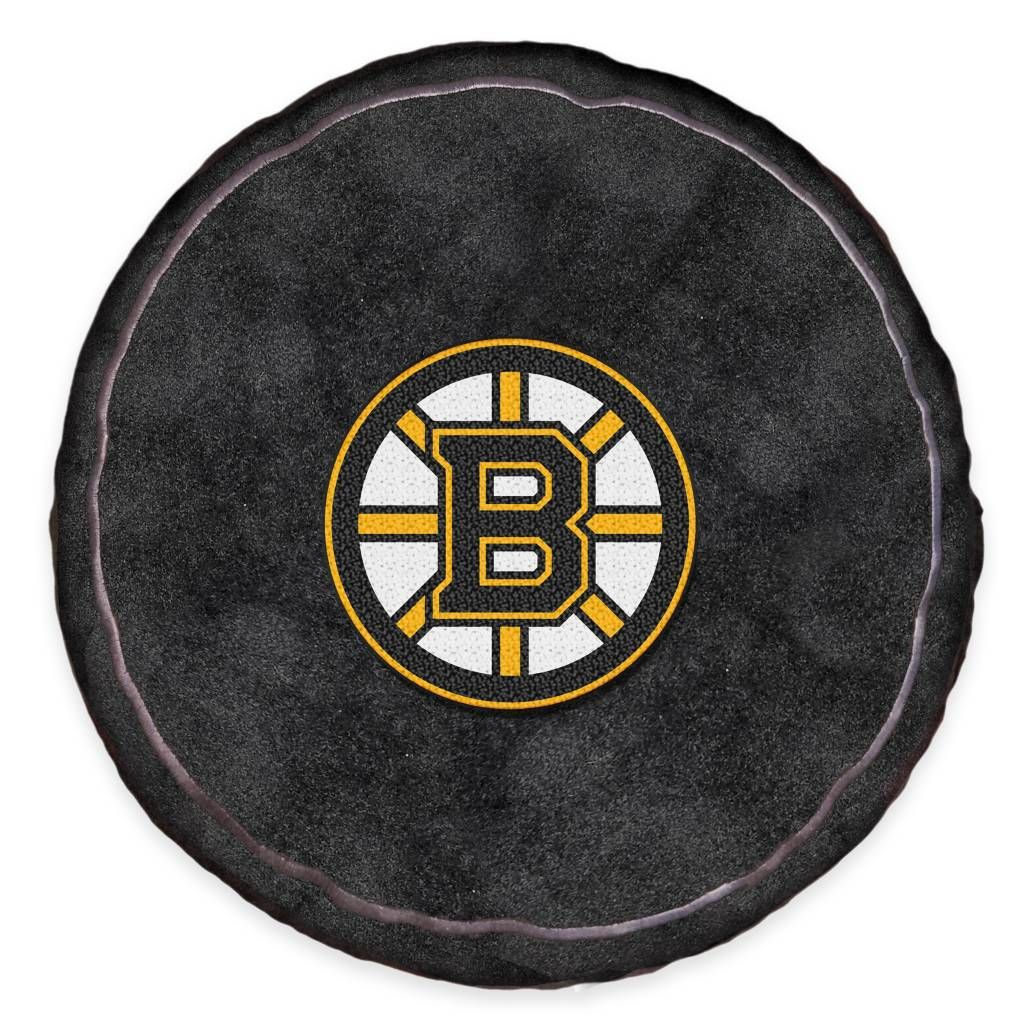 Product Image For Nhl Boston Bruins 3d Hockey Puck Plush Pillow Nhl Boston Bruins Boston Bruins Plush Pillows