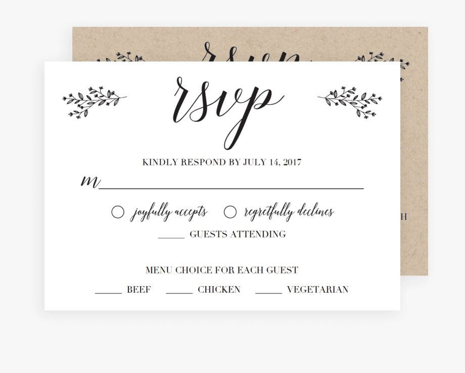 Invitation Paper Place Menu Card Rsvp Cards For Wedding In Wedding Rsvp Menu Choice Template Rsvp Wedding Cards Rsvp Wedding Cards Wording Wedding Rsvp