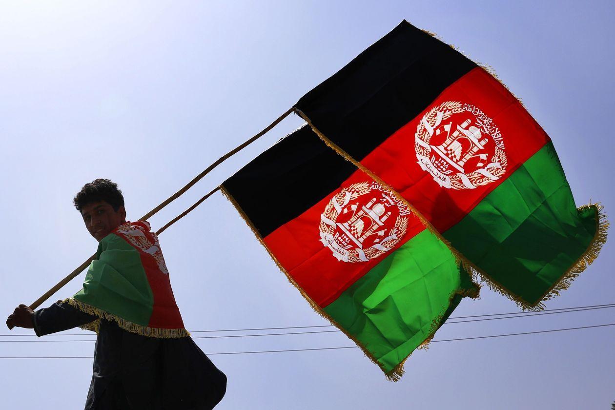 Afghan Forces Free Hostages Held By Taliban Afghanistan Flag