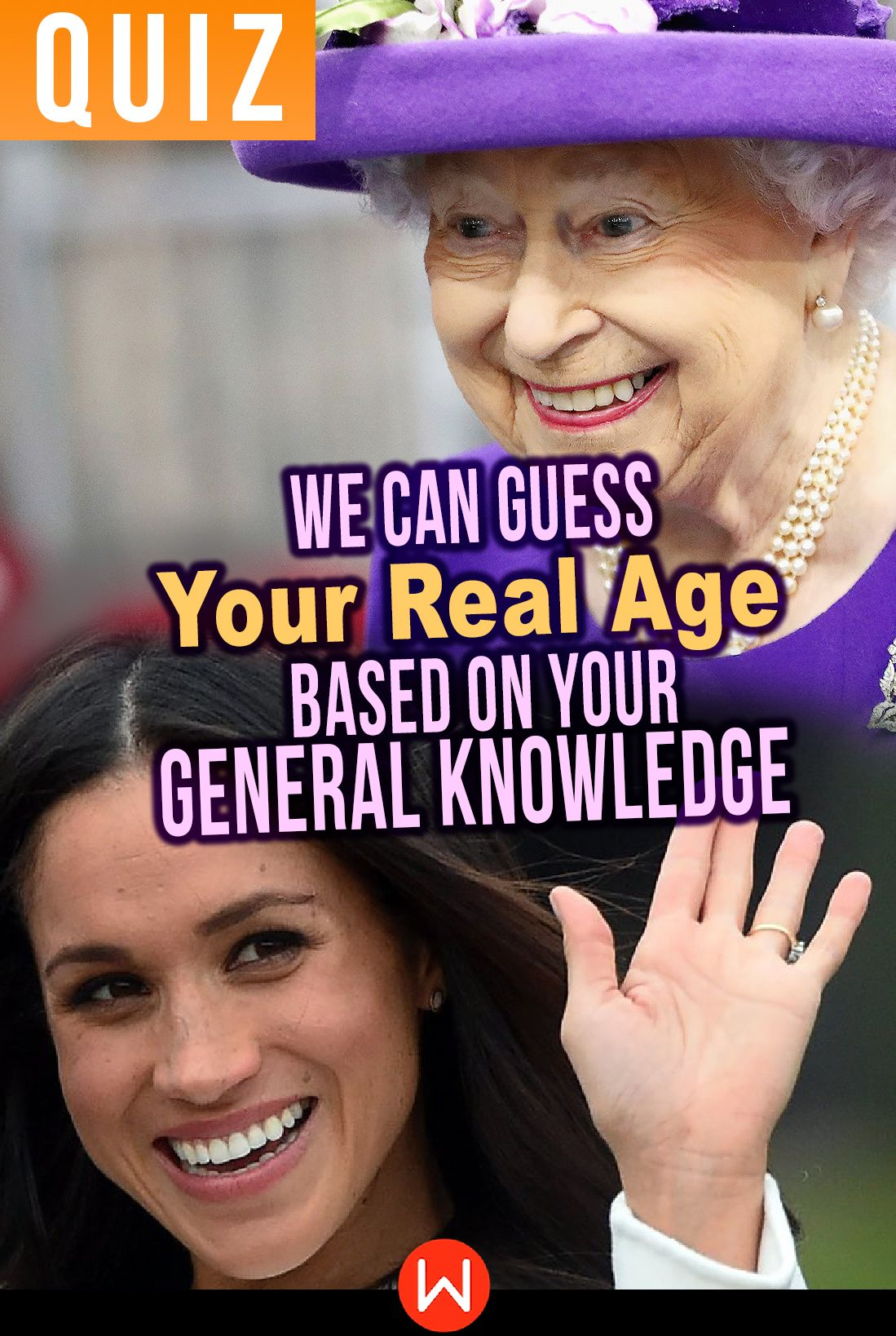 Quiz We Can Guess Your Real Age Based On Your General