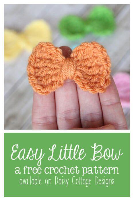 Easy Crochet Bow Pattern | Moños
